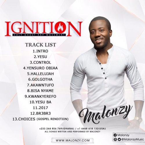 Malonzy – Ignition (Full Album) malonzy ignition album 500x500