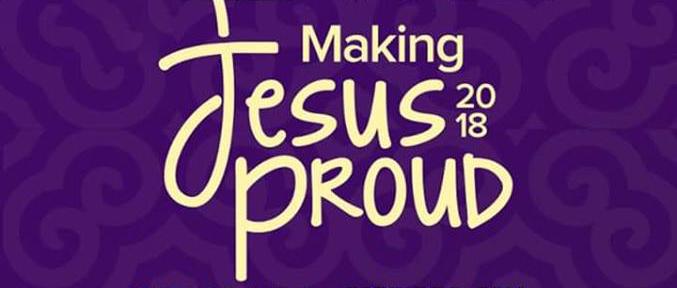 Max Gyams returns with Making Jesus Proud 2018 Making Jesus Proud