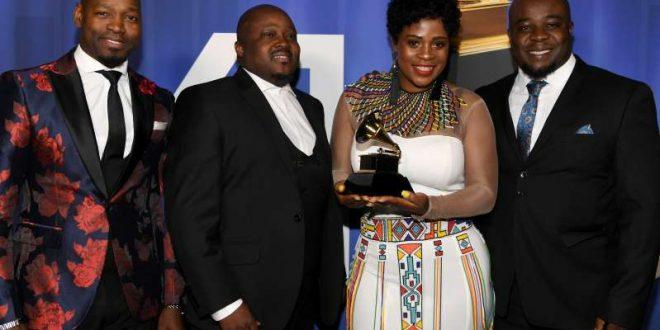 Soweto Gospel choir grabs a third Grammy Award soweto choir grammy award
